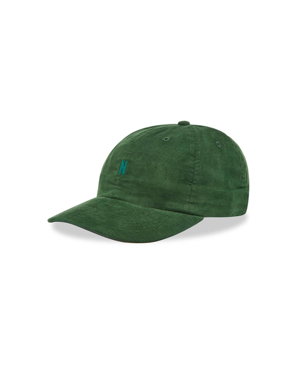 Baby Cord Sports Cap - Dartmouth Green