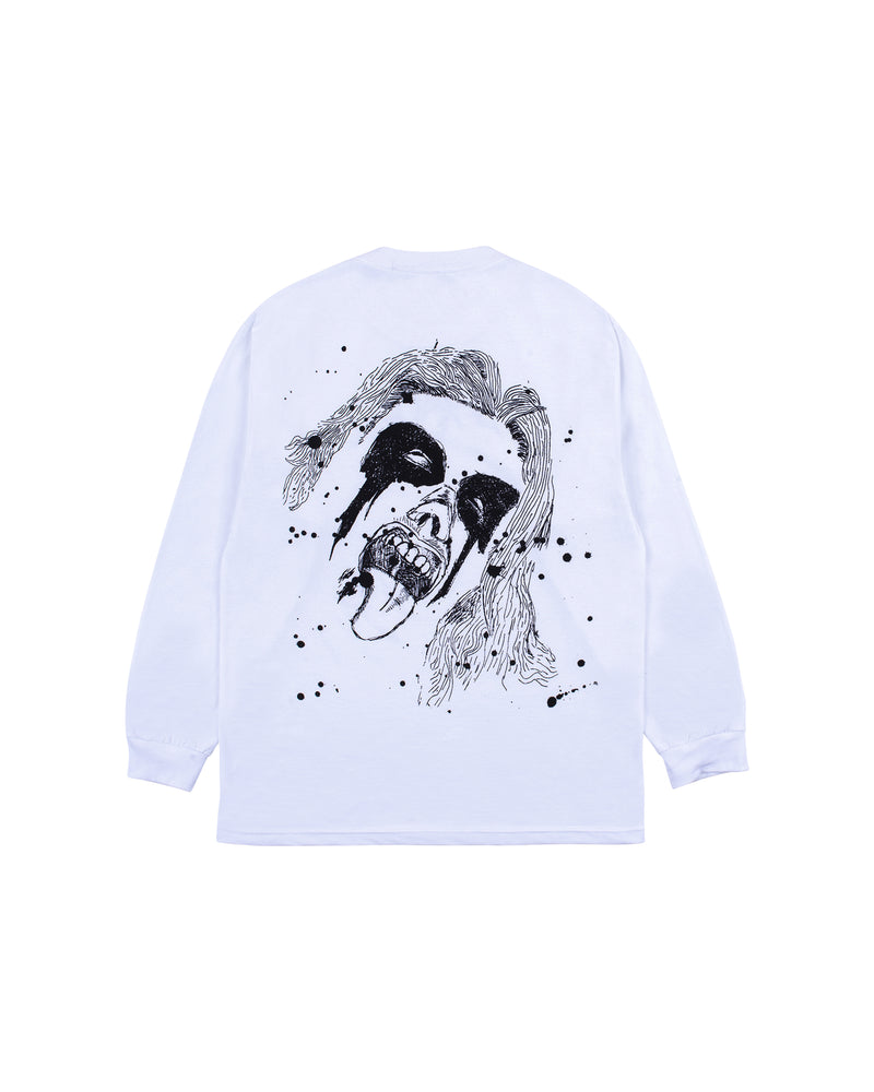 God Bless L/S T-Shirt - White