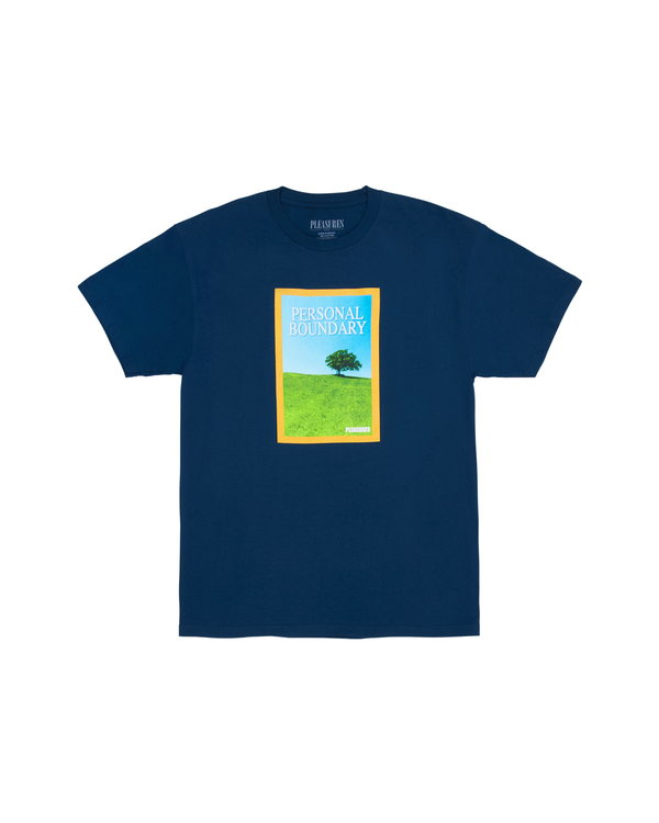 Boundary T-shirt - Harbour Blue
