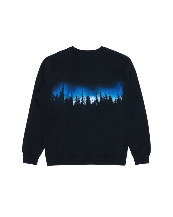 Forest Crewneck Sweatshirt - Black