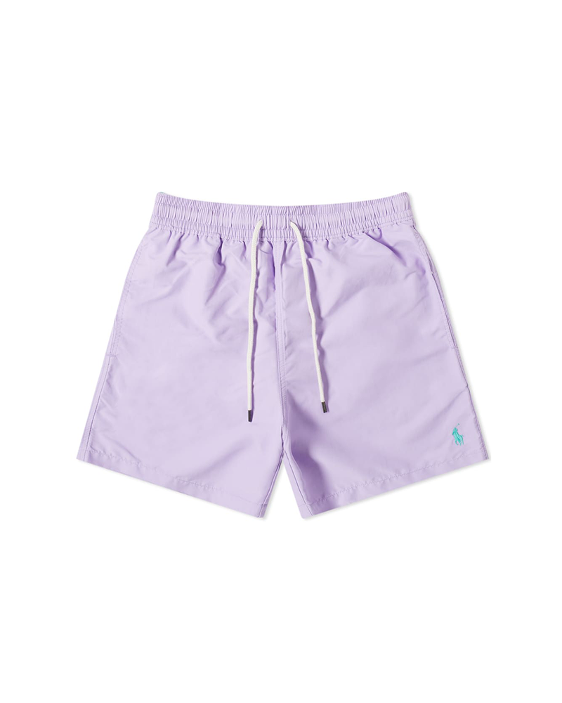 Polo Ralph Lauren Logo Swim Short - Purple