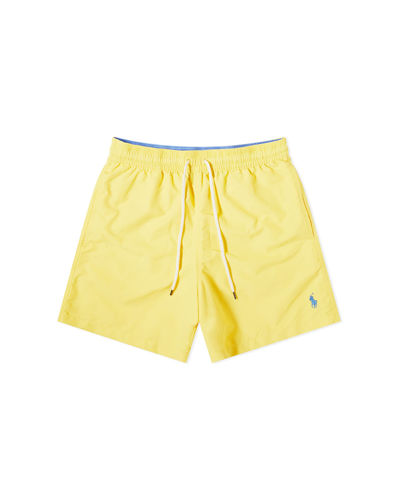 Polo Ralph Lauren Logo Swim Short - Bright Yellow