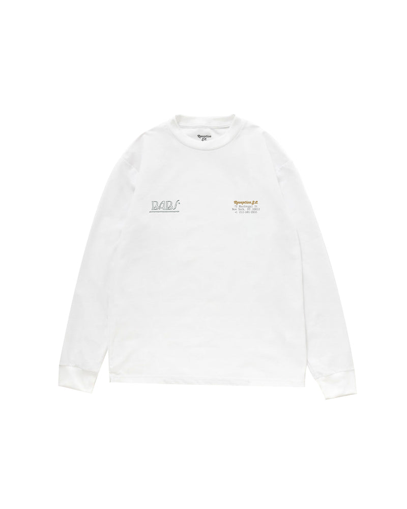 Babs L/S T-Shirt - White