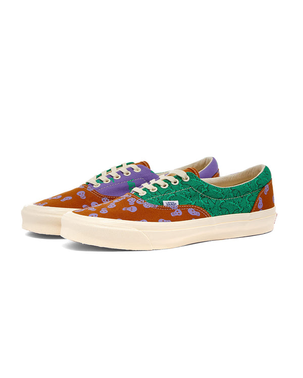 Vault OG Era LX Canvas - Pumpkin/Mint/Purple