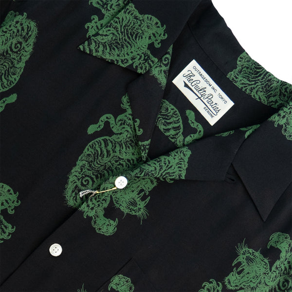 Wacko Maria Tim Lehi Hawaiian Shirt (Type-2) - Green