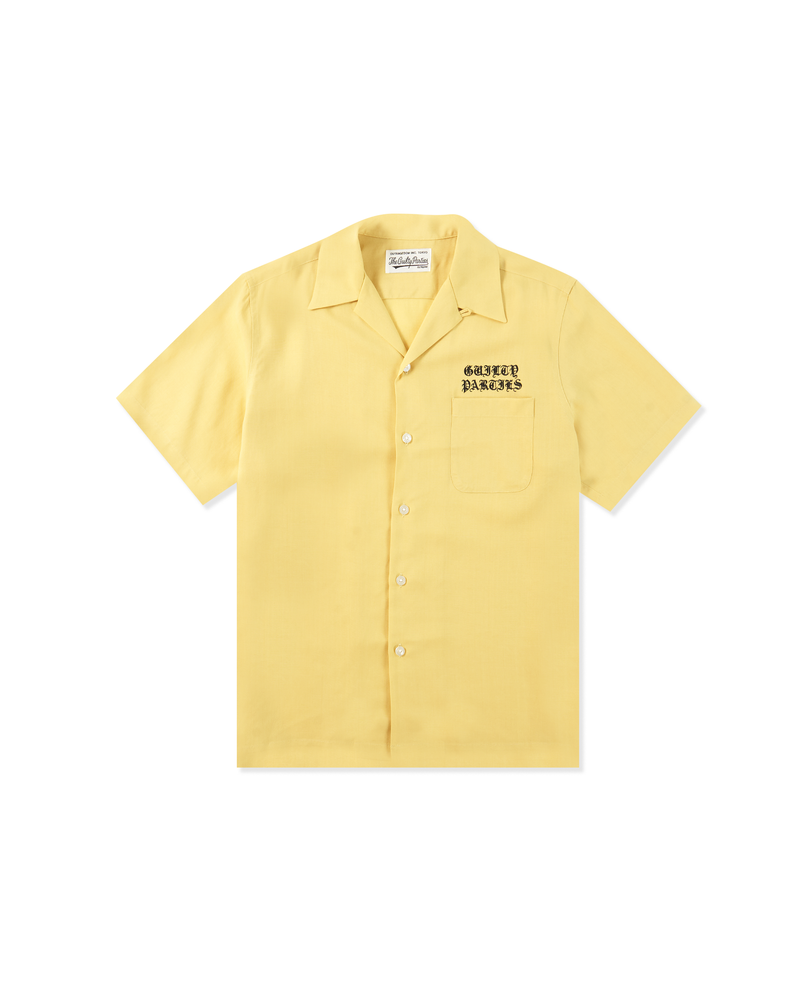 50'S Shirt S/S - Yellow