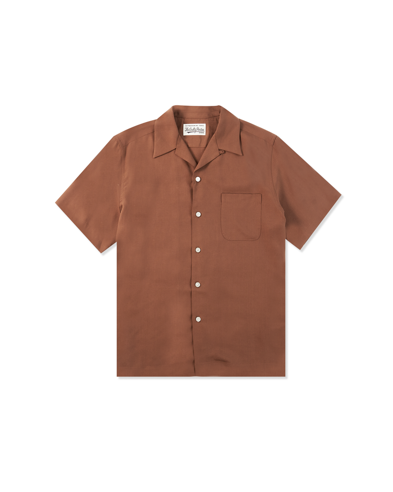 50'S Shirt S/S - Brown