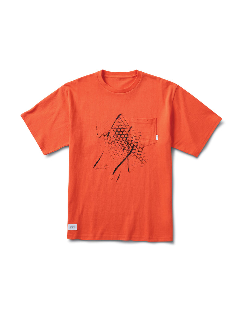 WTAPS T-Shirt - Mandarin Red