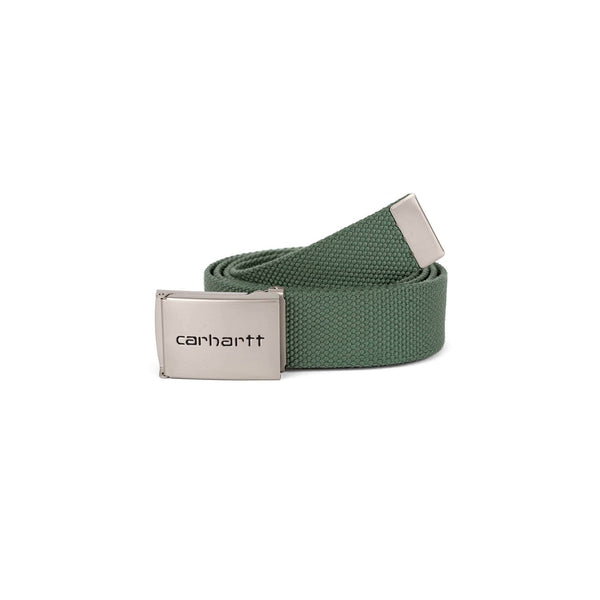 Carhartt WIP Clip Belt Chrome - Adventure