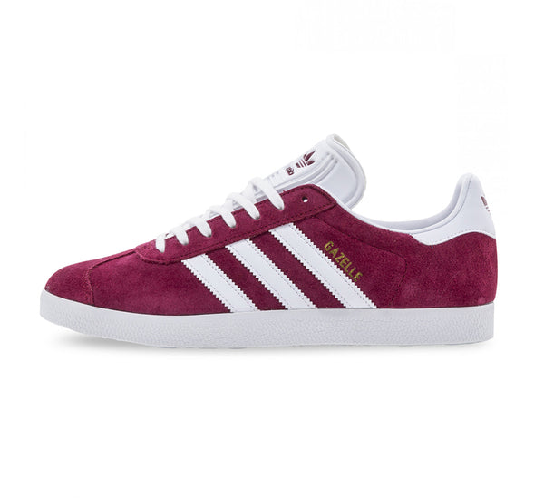 Adidas Gazelle - Burgundy/White