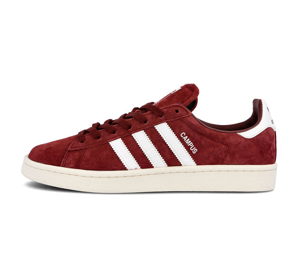 adidas Campus - Burgundy/White