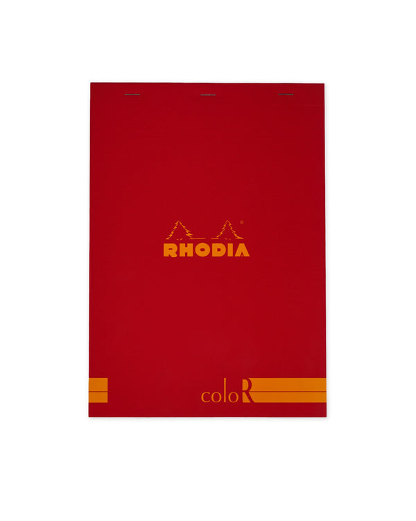 RHODIA Premium Colour Series Ruled A4 - Poppy Red