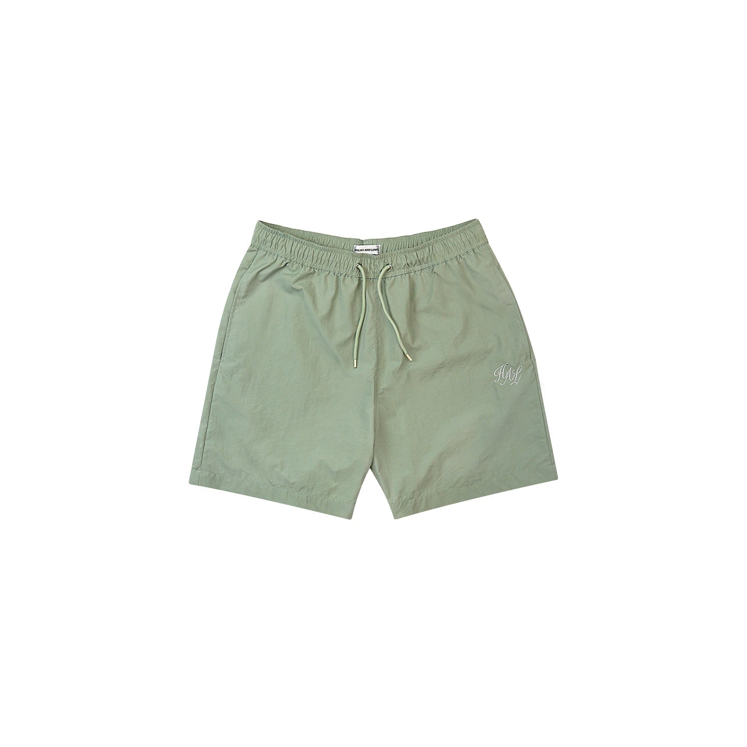HAL SS20 Nylon Swim Short - Sage Green
