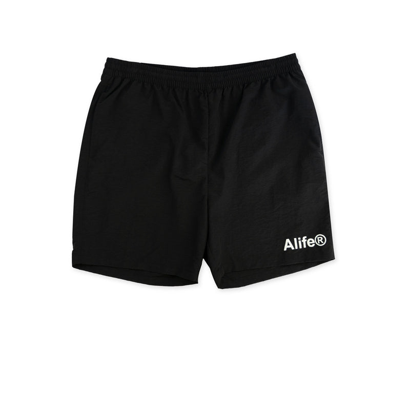 ALIFE Basic Nylon Shorts - Black