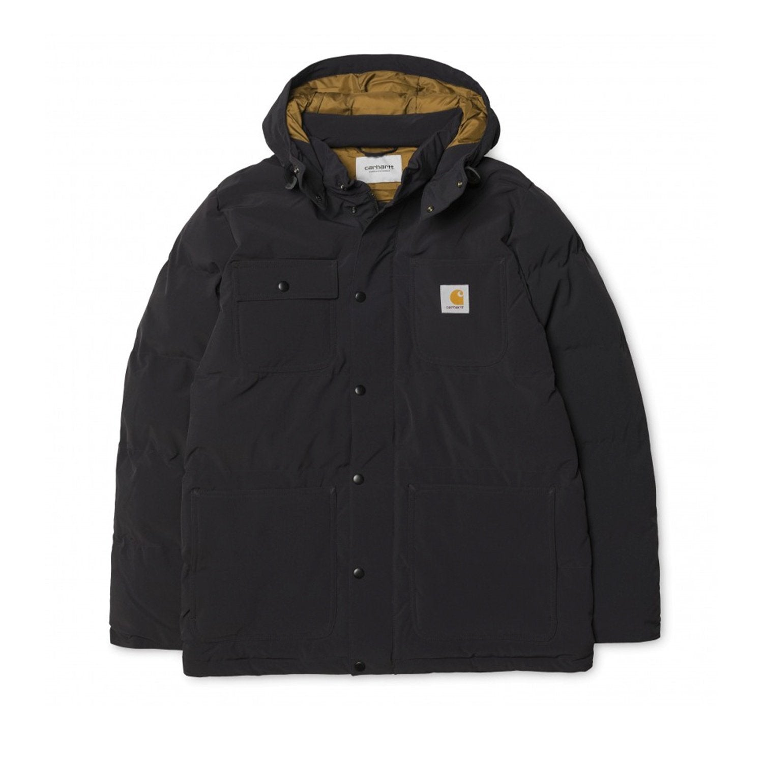 Carhartt WIP Alpine Coat - Black/Hamilton Brown