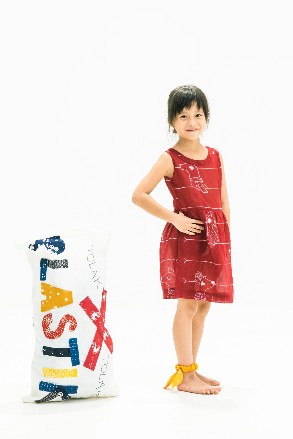 Dress Anak Siguguk Merah