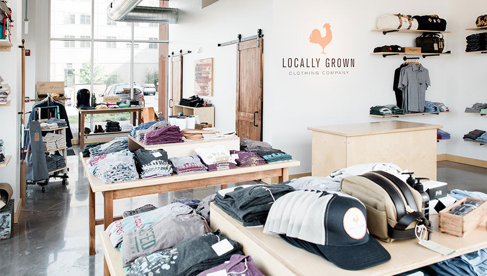 Locally Grown Clothing Co. flagship store