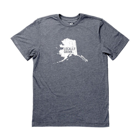 Locally Grown Clothing Co. Men's Alaska Solid State Tee