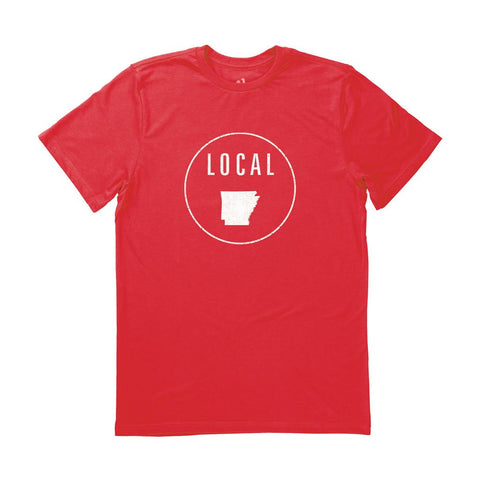Locally Grown Clothing Co. Men's Arkansas Local Tee