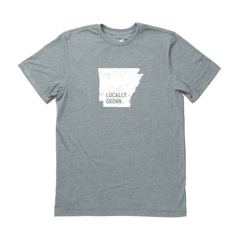 Locally Grown Clothing Co. Men's Arkansas Solid State Tee