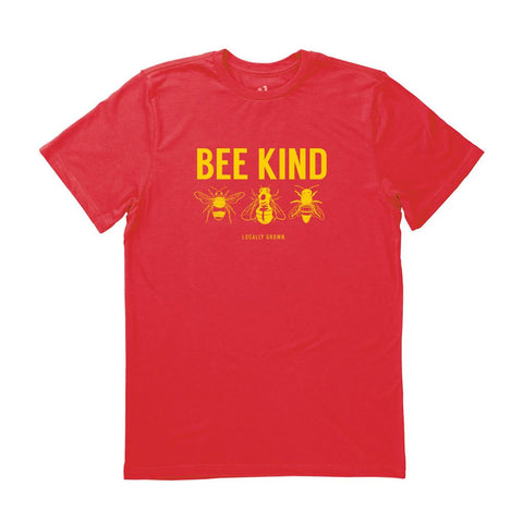 Locally Grown Clothing Co. Men's Bee Kind Tee