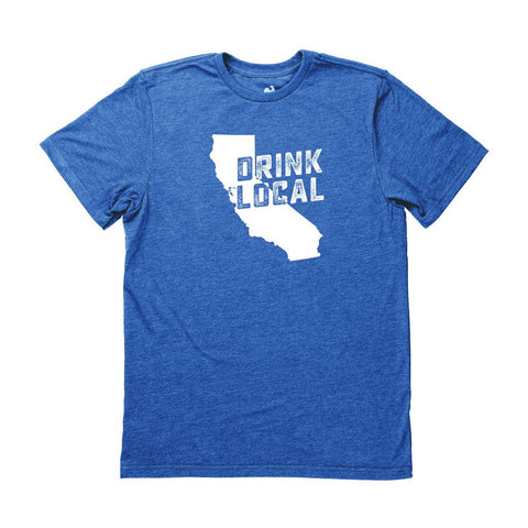 Men's California Drink Local State Tee