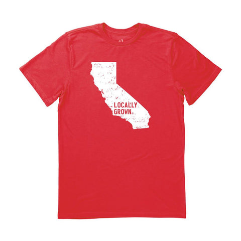 Locally Grown Clothing Co. Men's California Solid State Tee