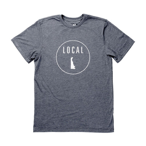 Locally Grown Clothing Co. Men's Delaware Local Tee