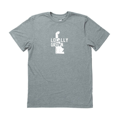 Locally Grown Clothing Co. Men's Delaware Solid State Tee