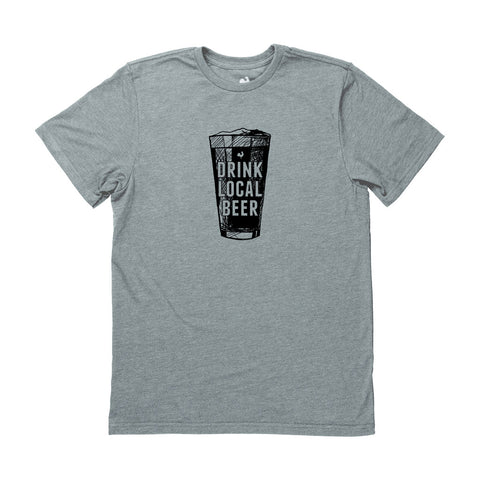 Locally Grown Clothing Co. Drink Local Beer Pint