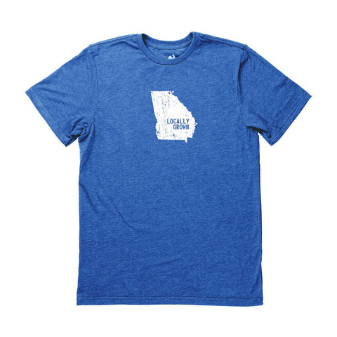Locally Grown Clothing Co. Men's Georgia Solid State Tee
