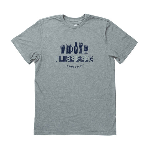 Locally Grown Clothing Co. Men's I LIKE BEER