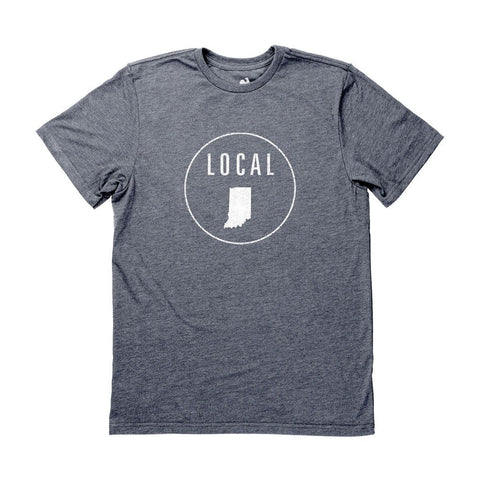 Locally Grown Clothing Co. Men's Indiana Local Tee