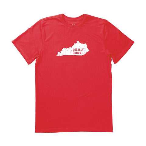 Locally Grown Clothing Co. Men's Kentucky Solid State Tee