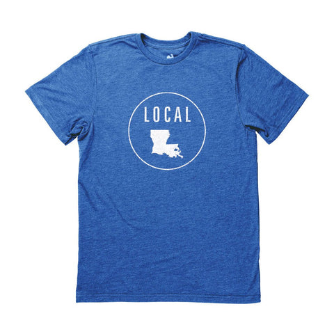 Locally Grown Clothing Co. Men's Louisiana Local Tee