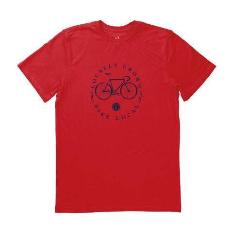 Locally Grown Clothing Co. Men's Bike Local Tee