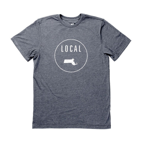 Locally Grown Clothing Co. Men's Massachusetts Local Tee