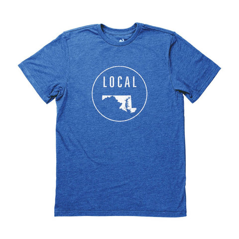 Locally Grown Clothing Co. Men's Maryland Local Tee