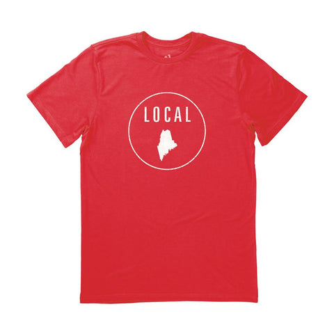 Locally Grown Clothing Co. Men's Maine Local Tee