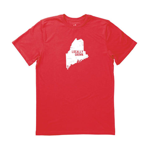 Locally Grown Clothing Co. Men's Maine Solid State Tee