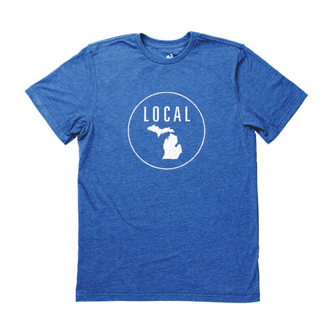 Locally Grown Clothing Co. Men's Michigan Local Tee