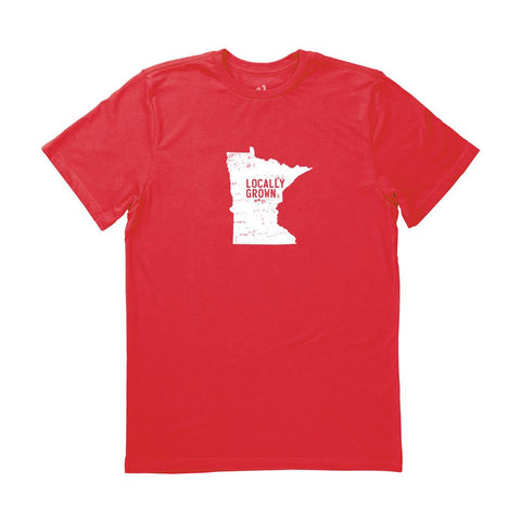 Locally Grown Clothing Co. Men's Minnesota Solid State Tee