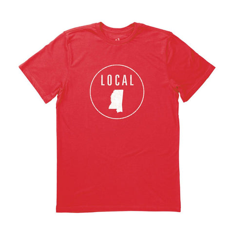Locally Grown Clothing Co. Men's Mississippi Local Tee