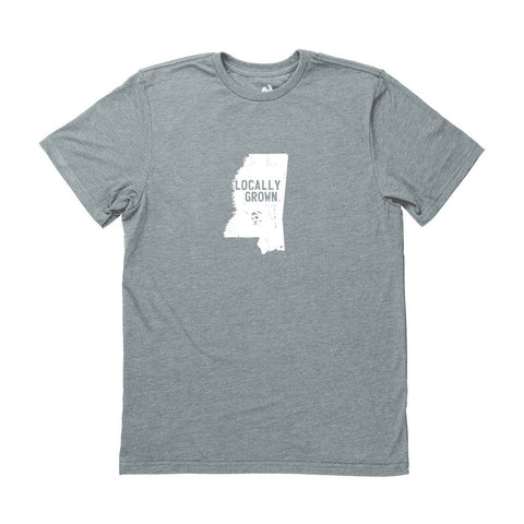 Locally Grown Clothing Co. Men's Mississippi Solid State Tee