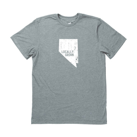 Locally Grown Clothing Co. Men's Nevada Solid State Tee