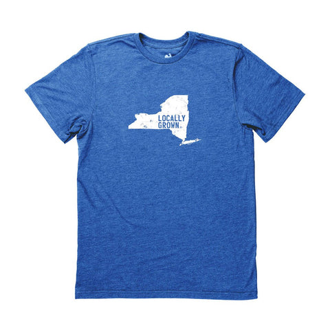 Locally Grown Clothing Co. Men's New York Solid State Tee