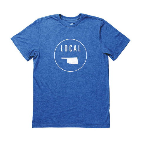 Locally Grown Clothing Co. Men's Oklahoma Local Tee