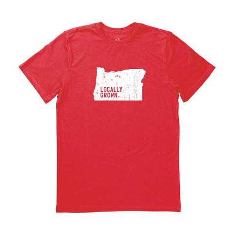 Locally Grown Clothing Co. Men's Oregon Solid State Tee