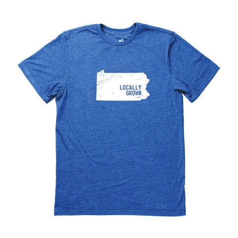 Locally Grown Clothing Co. Men's Pennsylvania Solid State Tee