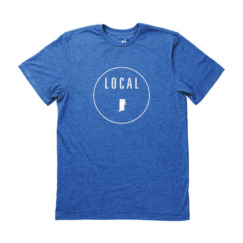 Locally Grown Clothing Co. Men's Rhode Island Local Tee